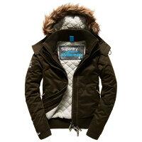 飛行外套推薦到美國百分百【全新真品】Superdry 極度乾燥 飛行員 風衣 連帽外套 皮草 刷毛 防風 夾克 軍綠色  女XS - XL I777就在美國百分百推薦飛行外套