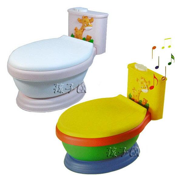【孩子國】長頸鹿音樂馬桶~兒童學習便器