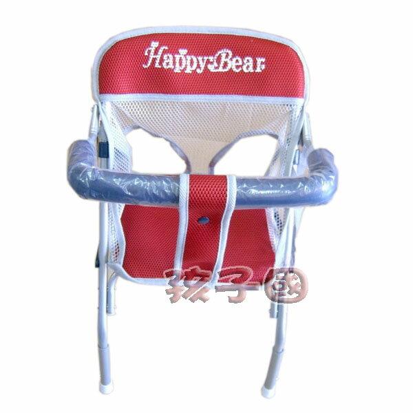 【孩子國】 台製三明治透氣布機車椅(可調高度、前後坐.附安全帶)