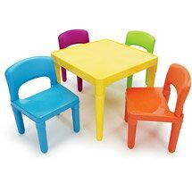 《孩子國》寶貝繽紛桌椅組