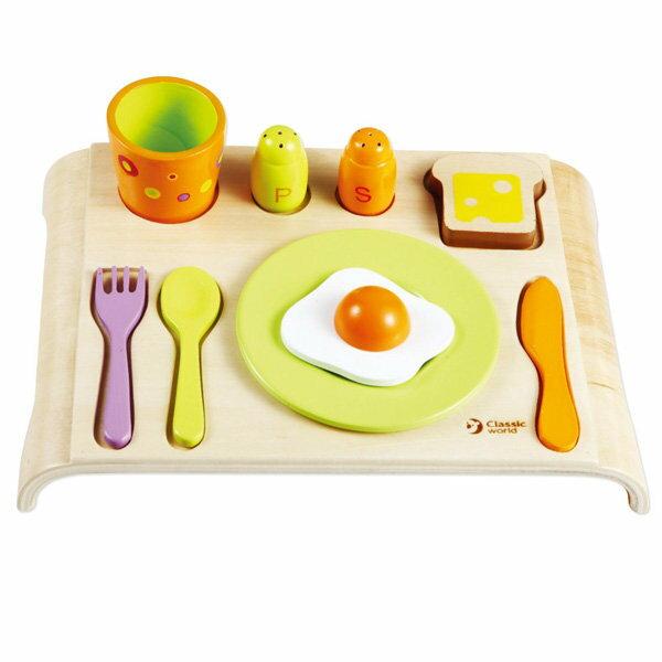 classic world 德國經典木玩 客來喜 早餐套餐組