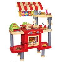 家家酒玩具推薦到【孩子國】多功能快餐台+食物切切樂就在孩子國推薦家家酒玩具