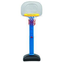 標準型二節式高度可調型籃球架-台灣生產