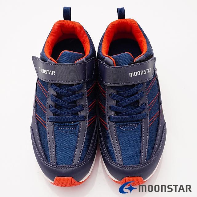 日本Moonstar機能童鞋 防水系列運動鞋 9295深藍(中大童段) 4