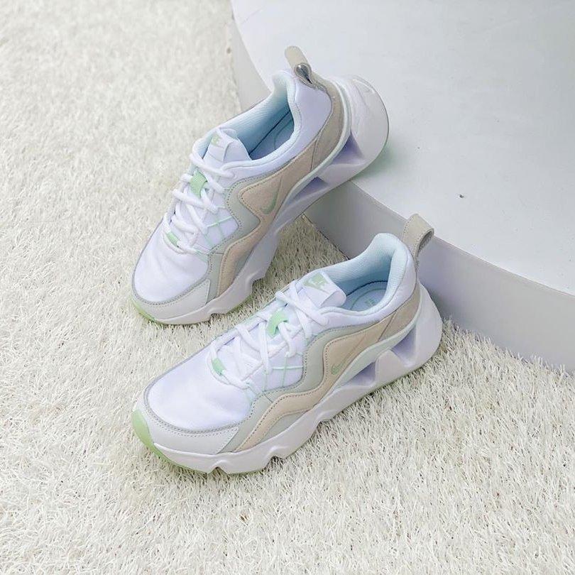 KUMO SHOES-Nike RYZ 365 孫芸芸 增高 厚底 老爹鞋 白綠 蘋果綠 BQ4153-101 女鞋