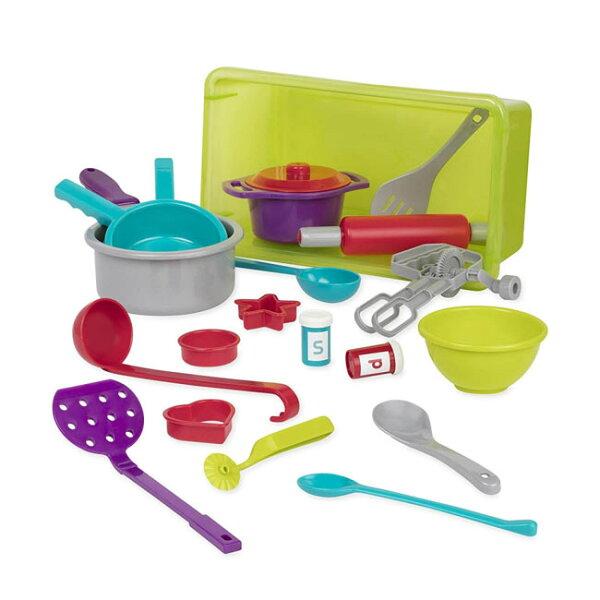 【奇買親子購物網】美國B.Toys酷客主廚烹飪組
