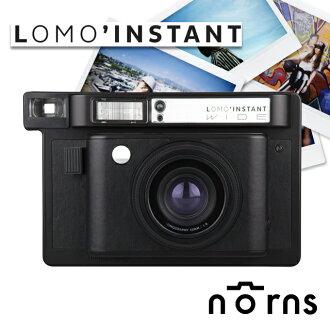 Norns 【Lomo'Instant 拍立得相機 WIDE寬幅 單機 黑色】lomography 底片相機  重曝 B快門