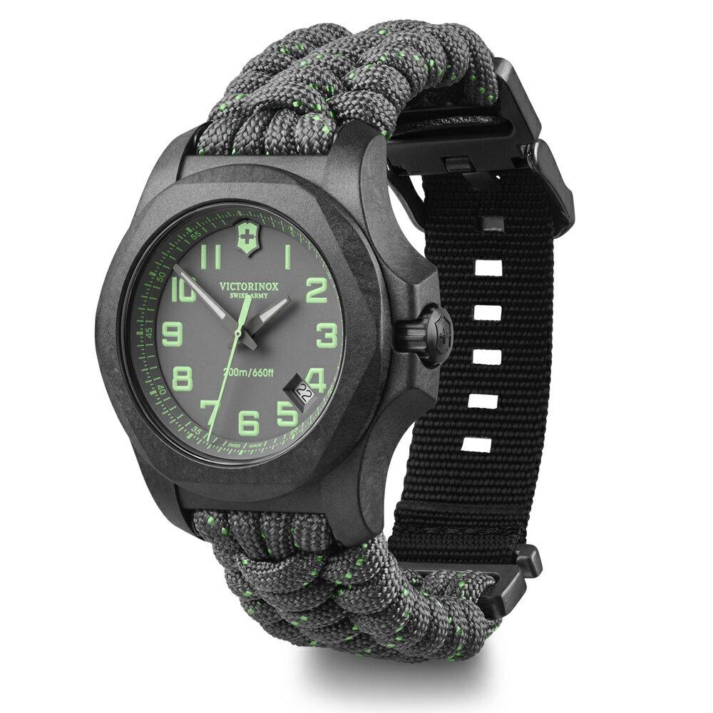VICTORINOX 瑞士 維氏 錶 I.N.O.X. Carbon手錶 VISA-241861 灰