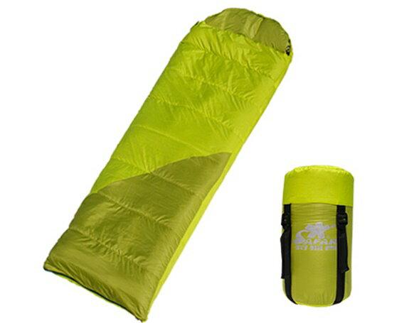 ╭☆雪之屋戶外休閒館☆╯DJ9051 狩獵者輕巧型睡袋(可雙拼)登山/露營/自行車環島用品@P17-4