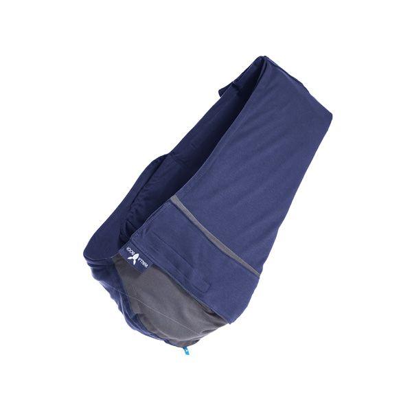 【安琪兒】荷蘭【wallaboo】酷媽袋鼠背巾 - 雙色系(深藍/灰) 0