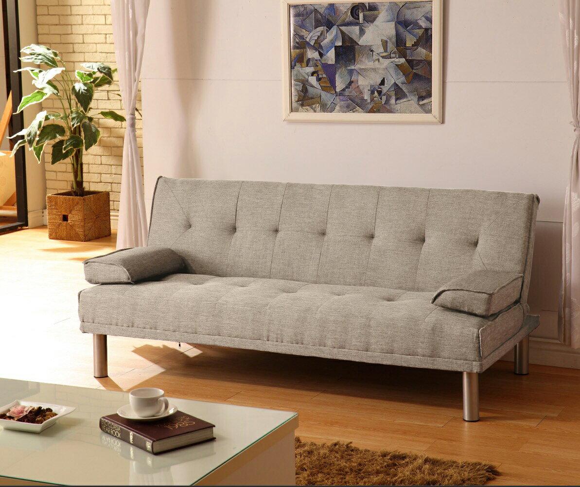 布沙發床 三人位沙發床 限時特價 三色可選 《心之綠洲》卡其 藍色 灰色 綠色 非 ikea 宜家  !新生活家具! 樂天雙12 0