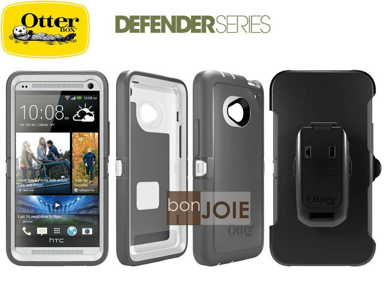 ::bonJOIE:: 美國原廠正品 OtterBox Defender HTC NEW ONE ( M7 ) 防禦者 三防手機殼 (附原廠購買證明) 三層防摔防震 保護殼 手機蓋 套