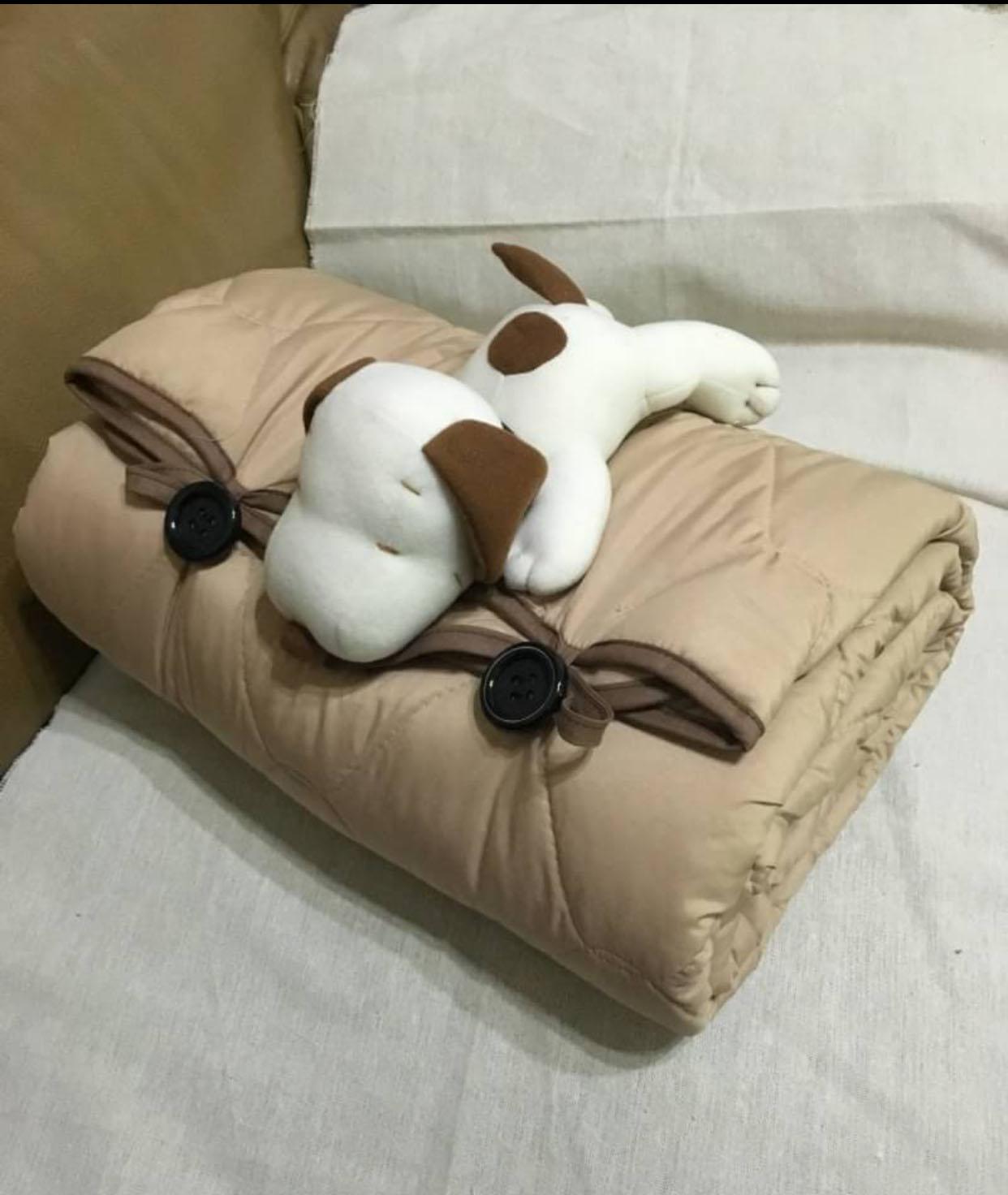 SNOOPY史努比 棉被抱枕 毯子 車用毯 冷氣毯懶人毯 寶寶被 聖誕交換禮物首選