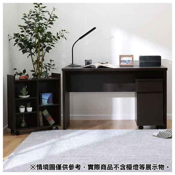 ◎系統桌 TRIPLO 119 DBR 複合式系統書桌櫃組 NITORI宜得利家居 1