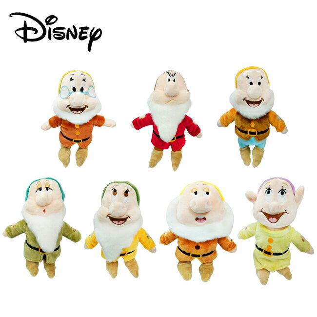 【正版授權】七矮人 絨毛玩偶 娃娃 玩偶 擺飾 七個小矮人 白雪公主 迪士尼 Disney