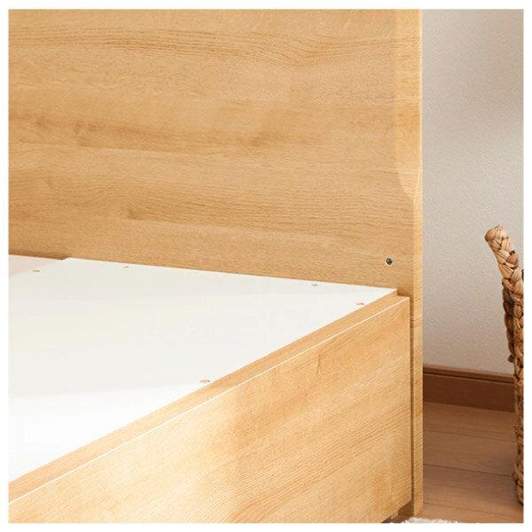 ◎單人床座 床架 MELLISSA3 LBR 付抽屜 NITORI宜得利家居 8