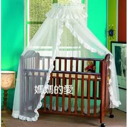 【媽媽的愛】OK BaBy 1008高級歐式豪華型嬰兒床蚊帳