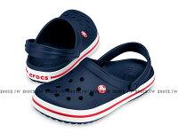 Shoestw【11016-410】CROCS 卡駱馳 鱷魚 輕便鞋 拖鞋 涼鞋 深藍白紅 中性款 0