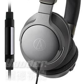 【曜德★新上市】鐵三角 ATH-AR5 黑色 摺疊耳罩式耳機 智慧型線控 ★免運★送收線+收納盒★