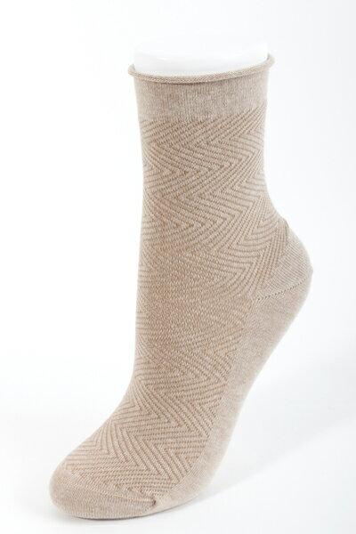 【吳福洋】女版指無痕環保咖啡襪 (2雙入)