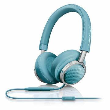 【迪特軍3C】PHILIPS 飛利浦 Fidelio M1BL 耳罩式耳機 藍色