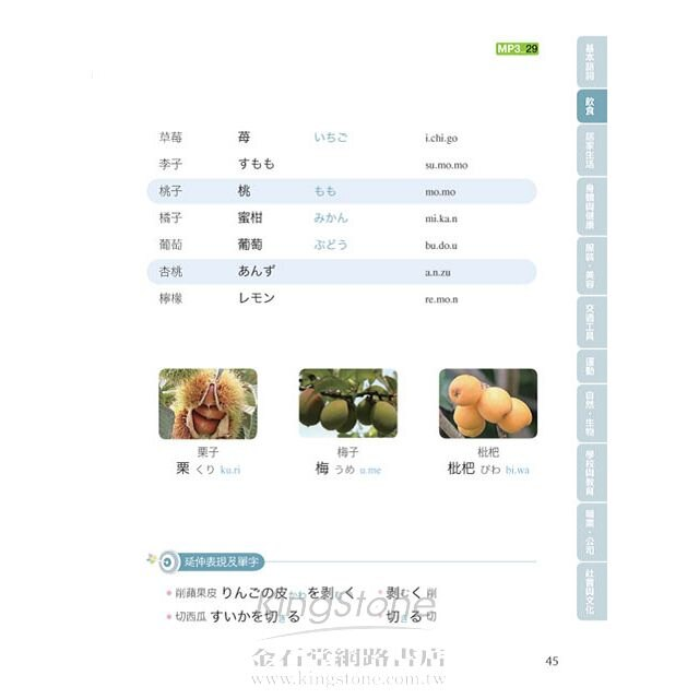 用日本小孩的方法記單字:圖解單字+聽力,不用背就能學好日文單字!!(附日語、中文對照MP3) 6