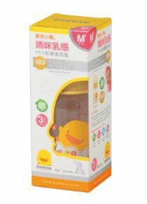 Piyo 黃色小鴨 媽咪乳感PES防脹氣奶瓶 (140ml)【悅兒園婦幼生活館】 3