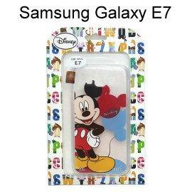 迪士尼透明軟殼 Samsung E7000 Galaxy E7 [氣球] 米奇【Disney正版授權】