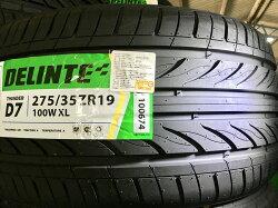 275/35/19  D7  德林特輪胎 轎車胎 泰國製