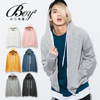 ☆BOY-2☆【OE10563】連帽外套 休閒棉質連帽抽繩外套