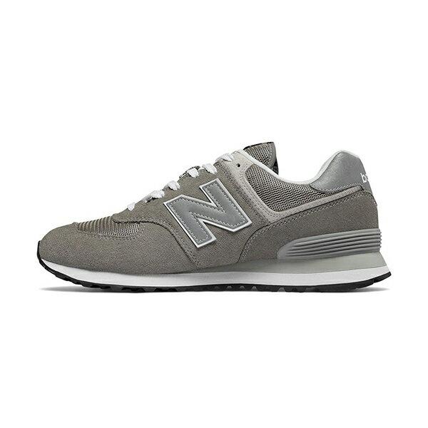 【NEW BALANCE】NB 574 復古鞋 休閒鞋 麂皮 復古灰 男女鞋 -ML574EGGD
