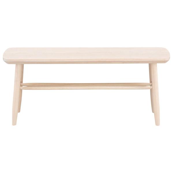 ◎(OUTLET)橡膠木長凳 NUTS TW 110 WW 福利品 NITORI宜得利家居 1