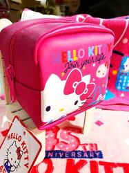 大賀屋 正版  HELLO KITTY 零錢包 包包 小包 女包 45周年 限量版 凱蒂貓 KT T00120414