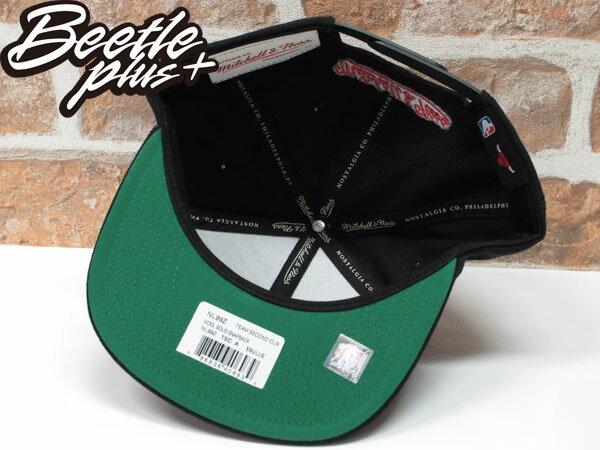 BEETLE MITCHELL&NESS NBA BULLS 芝加哥 黑紅 公牛 LOGO刺繡 SNAPBACK 後扣帽 2