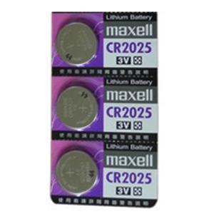 maxell 鈕扣電池 3V / CR2025 水銀電池