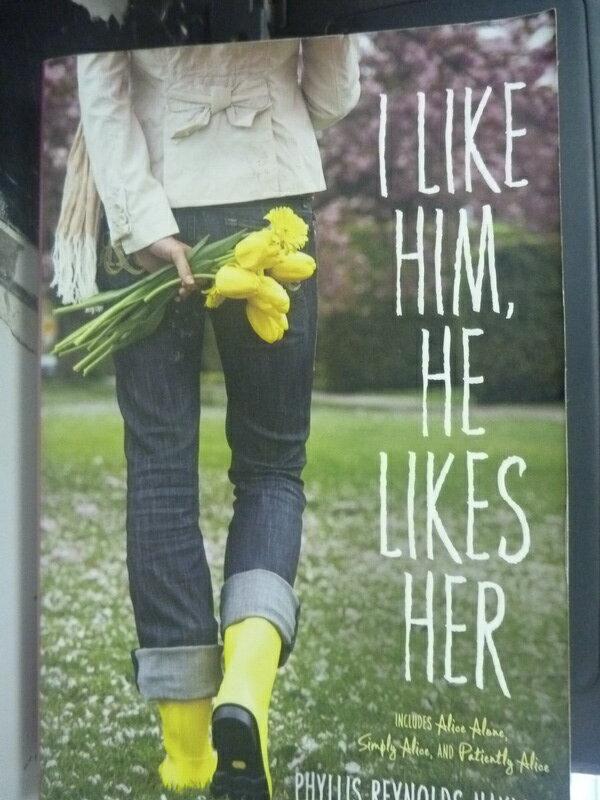 【書寶二手書T4/原文小說_HCN】I Like Him, He Likes Her: Alice Alone, Sim