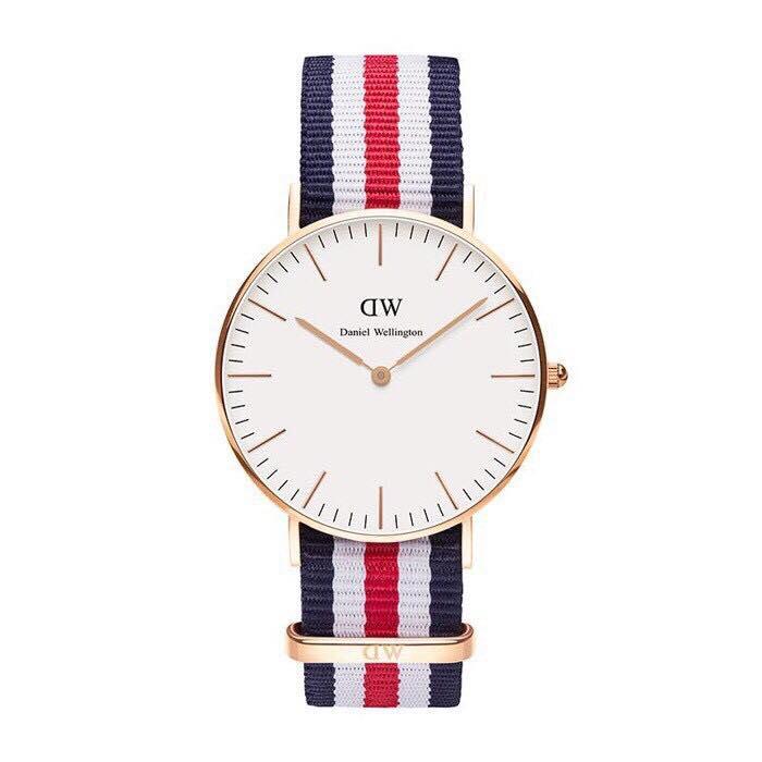 【Daniel Wellington】DW手錶CLASSIC CANTERBURY 40MM(免費贈送另一組表帶) 0