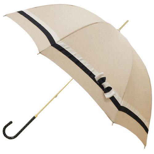 日本代購預購蝴蝶結遮陽傘雨傘直立傘晴雨兩用傘長傘單人傘用傘紙箱運送555-14021