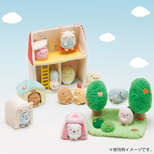 X射線【C697200】角落生物 Sumikko Gurashi 絨毛公仔-粉珍珠,絨毛 / 填充玩偶 / 玩具 / 公仔 / 抱枕 / 靠枕 / 娃娃 2