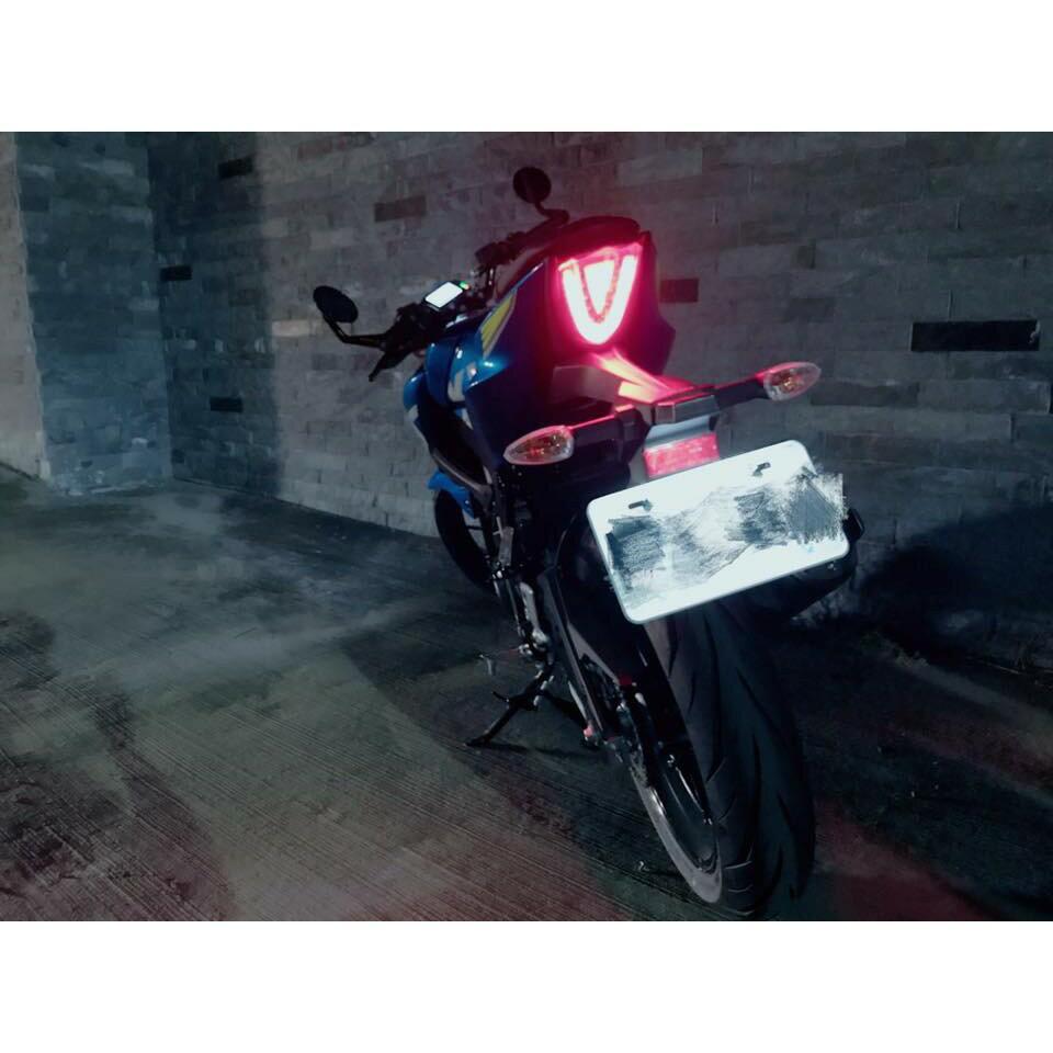 【LFM】CRAZY BOSS 類R1000 整合式尾燈 小阿魯 GSX-R150 GSX-S150 導光 LED 後燈 0