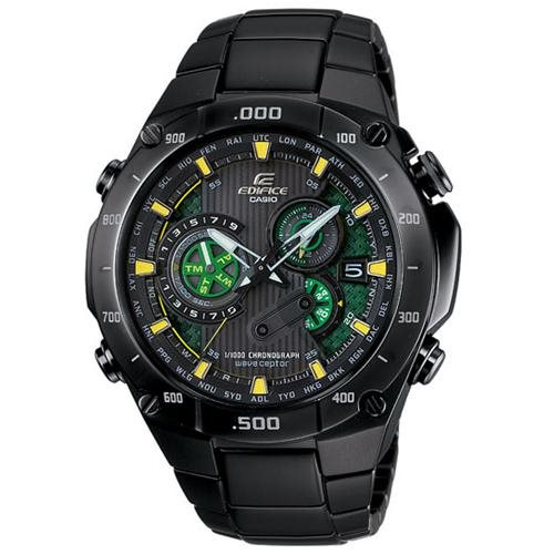 Casio EQWM1100DC-1A2 Edifice Black Label Atomic Watch 0