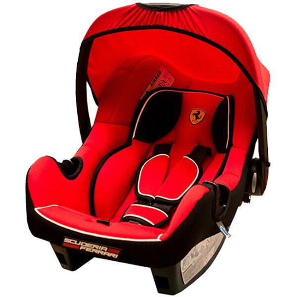 法國FERRARI法拉利旗艦提籃式汽座紅色『121婦嬰用品館』