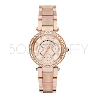 MK6110 MICHAEL KORS 精巧型鑲鑽女錶手錶