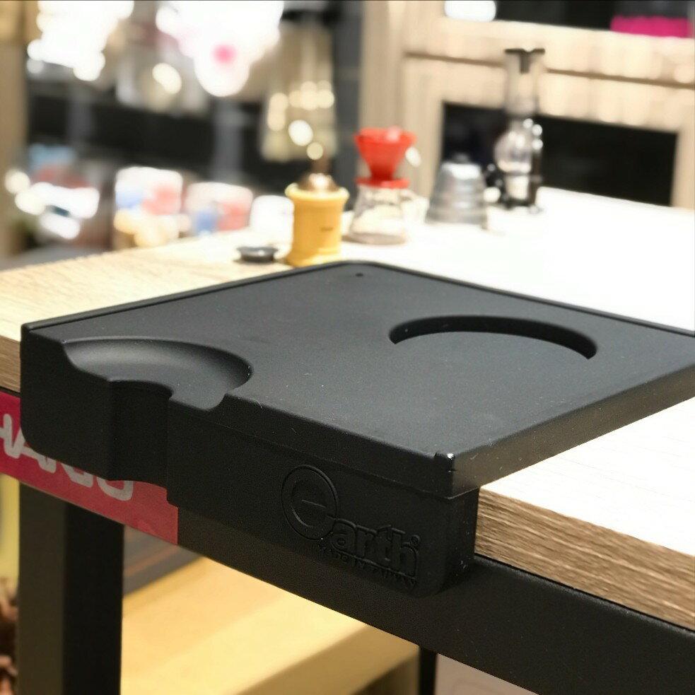 【沐湛咖啡】台灣精品 無毒矽膠 Earth 填壓墊 止滑墊 防滑墊 吧檯填壓專用 轉角墊 可放填壓器 義式咖啡機