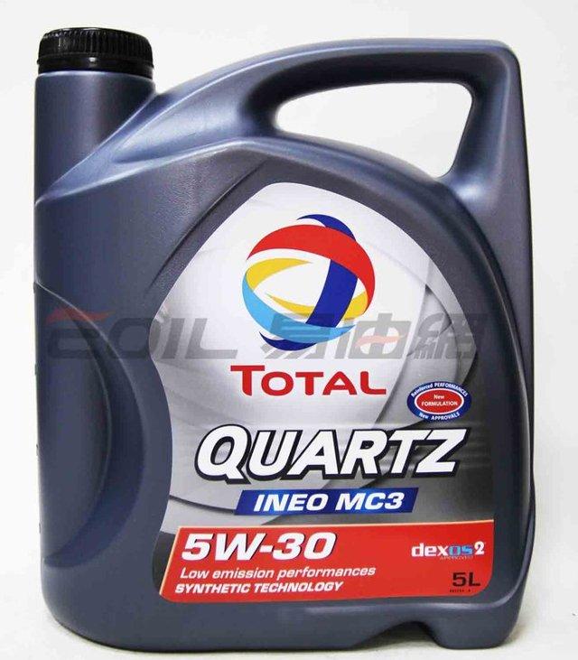 TOTAL QUARTZ INEO MC3 5W30 合成機油 5L