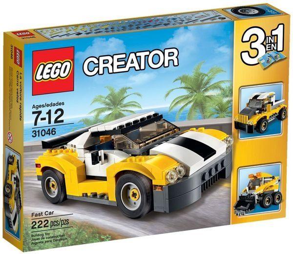 ~LEGO 樂高積木~Creator 大師系列 ~ 高速黃色汽車 LT~31046