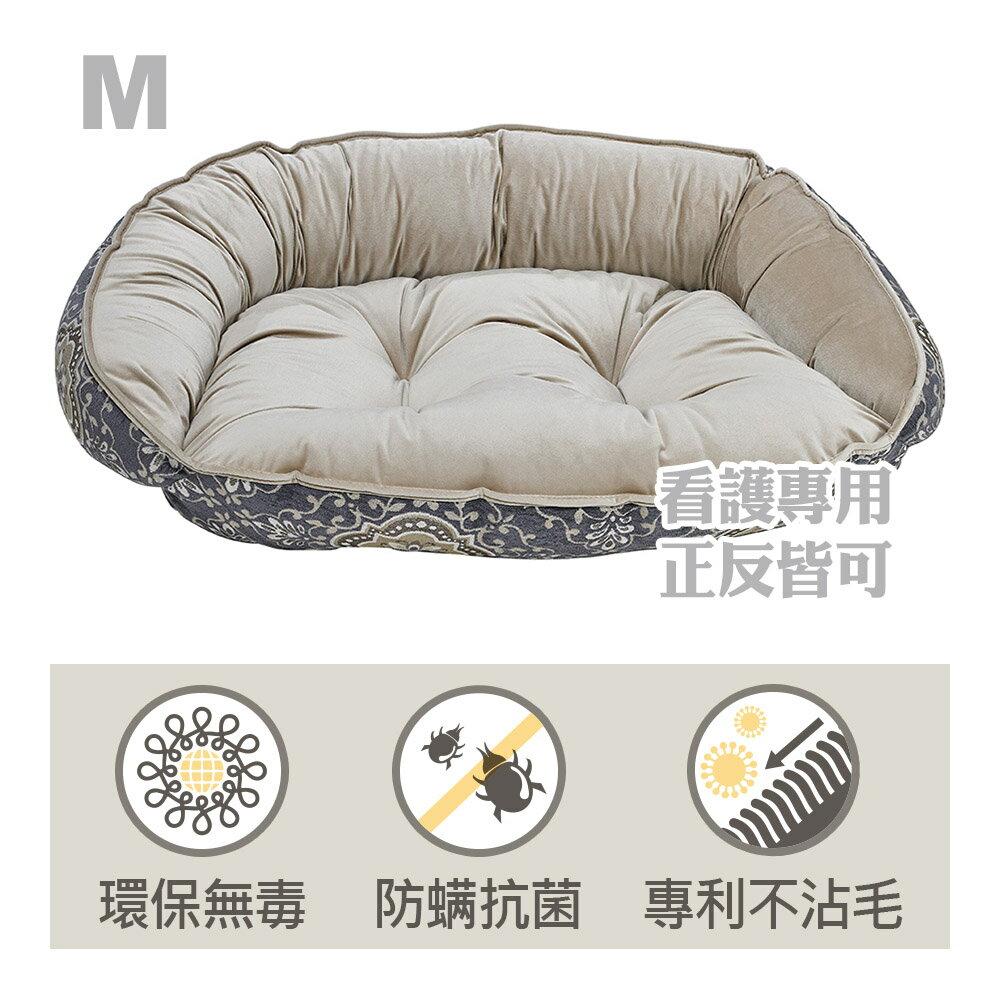 Bowsers半月極適寵物睡床-玉石白-M - 限時優惠好康折扣