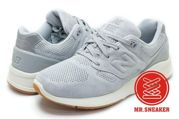 ☆Mr.Sneaker☆NEWBALANCEMRL530SG530麂皮膠底淺灰灰色男段