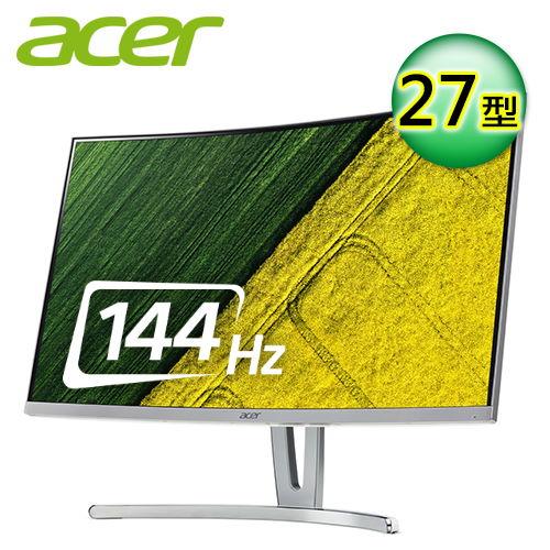 【Acer 宏碁】ED273 A 27型 VA曲面電競液晶螢幕 【贈收納購物袋】【三井3C】