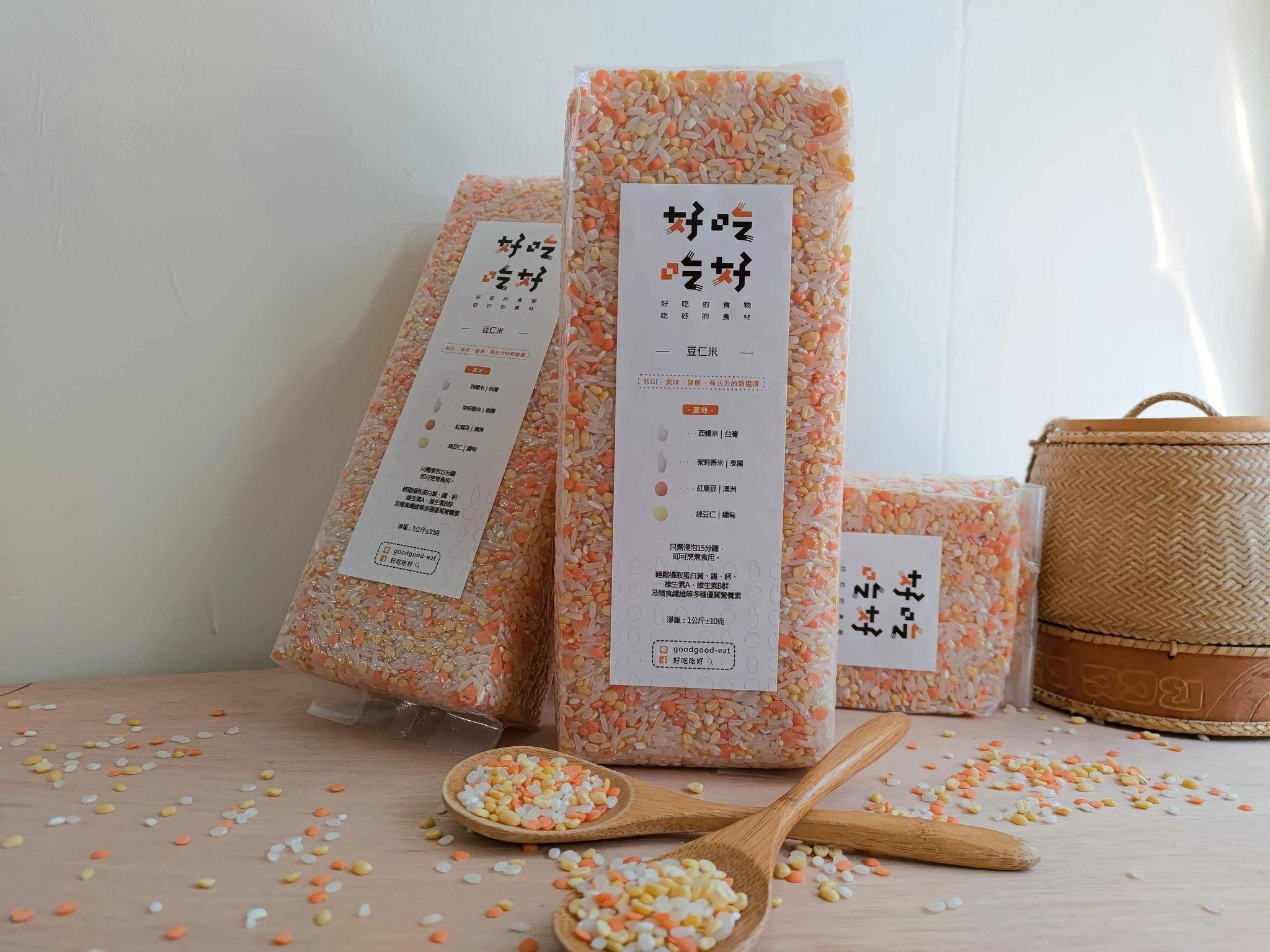 豆仁米 1公斤,純素/乾貨